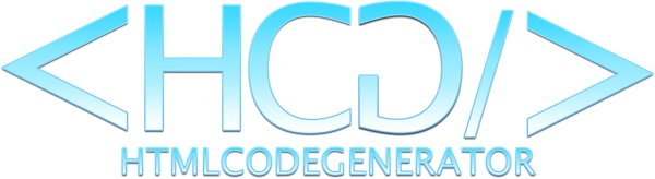 HTML Code Generator Logo